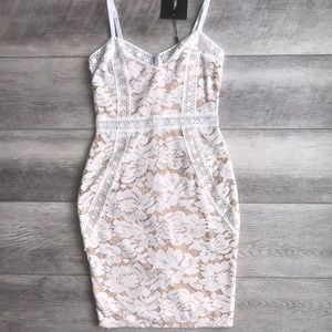 PrettyLittleThing lace dress